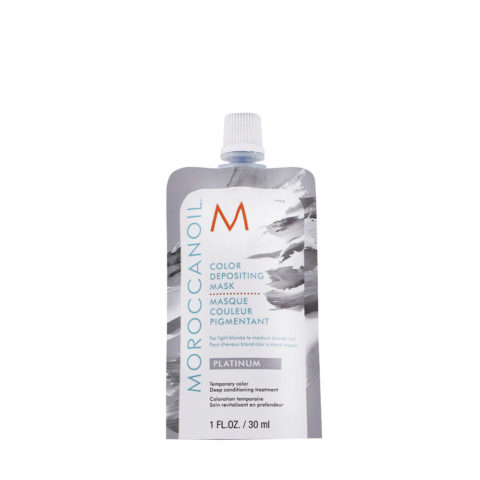Moroccanoil Color Deposit Mask Platinum 30ml