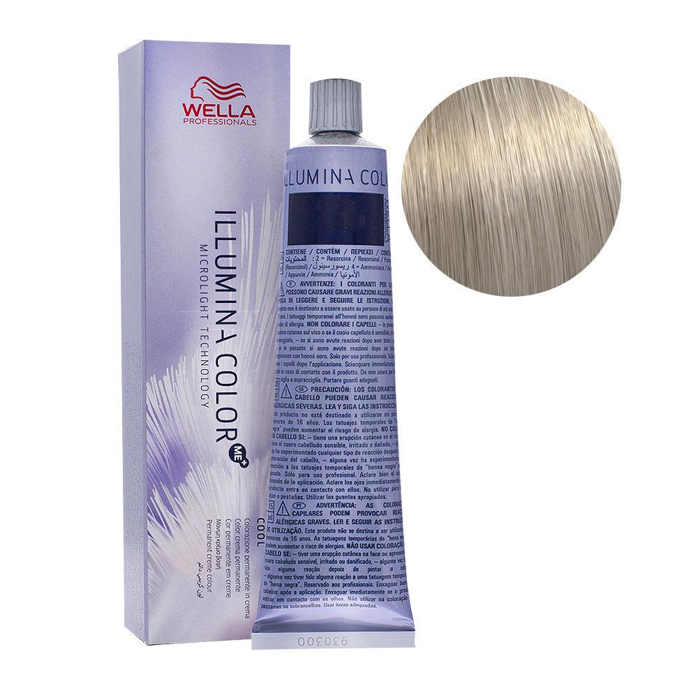 10/81 Lightest Pearl Ash Blonde Wella Illumina Color 60ml