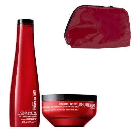 Shu Uemura Color lustre kit shampoo 300ml masque 200ml