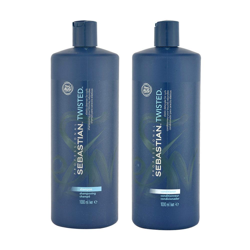 Sebastian Twisted Shampoo 1000ml Conditioner 1000ml for Curly Hair