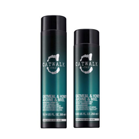 Tigi Catwalk Kit Shampoo 300ml Conditioner 250ml For Dry Hair