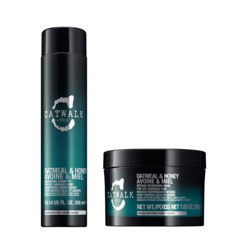 Tigi Catwalk Kit Shampoo 300ml Mask 200gr For Dry Hair