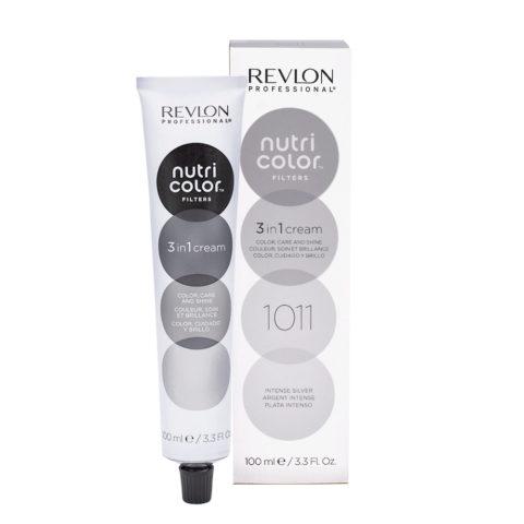 Revlon Nutri Color Creme 1011 Intense silver 100ml - color mask