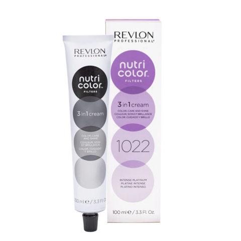 Revlon Nutri Color Creme 1022 Intense platinum 100ml - color mask