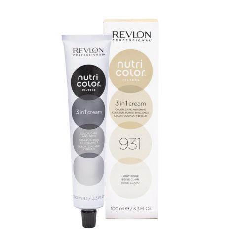 Revlon Nutri Color Creme 931 Light beige 100ml - color mask