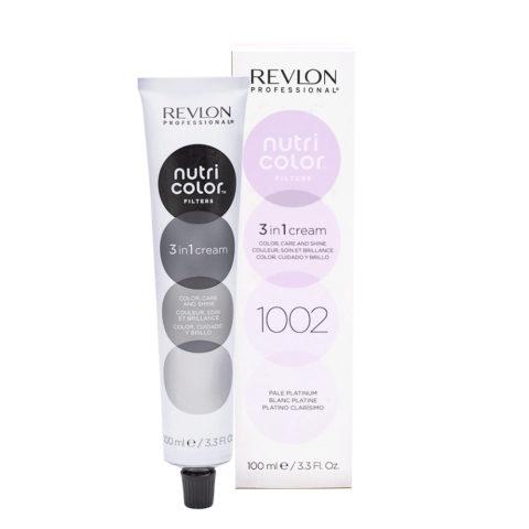 Revlon Nutri Color Creme 1002 White platinum 100ml - color mask