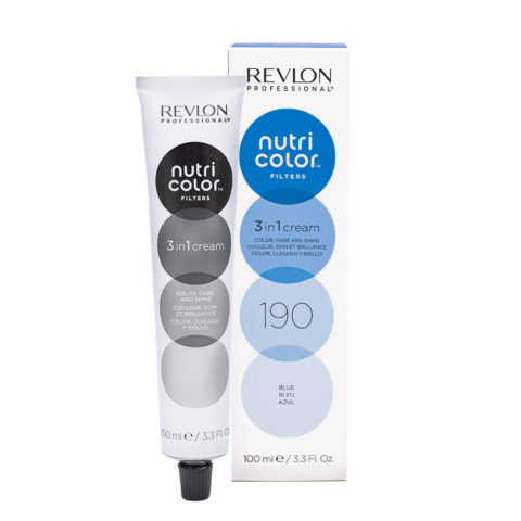 Revlon Nutri Color Creme 190 Blue 100ml - color mask