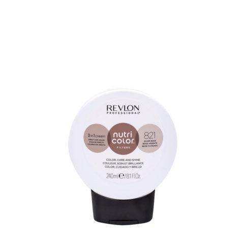 Revlon Nutri Color Creme 821 Silver Beige 240ml - color mask