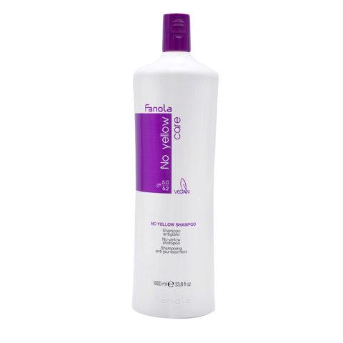 Fanola No Yellow Shampoo Antiyellow For Blond Hair 1000ml