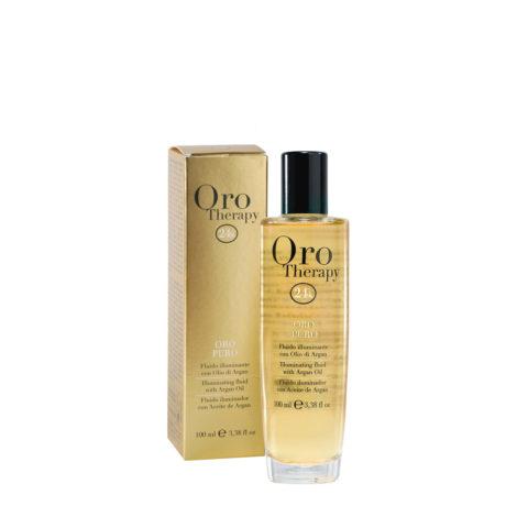 Fanola Oro Puro Illuminating oil for all Hair Types 100ml