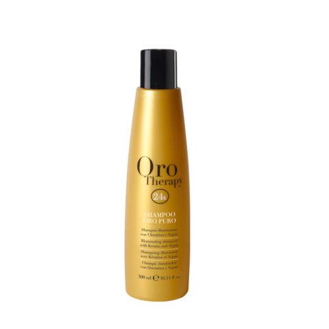 Fanola Oro Therapy Oro Puro Shampoo For All Hair Types 300ml