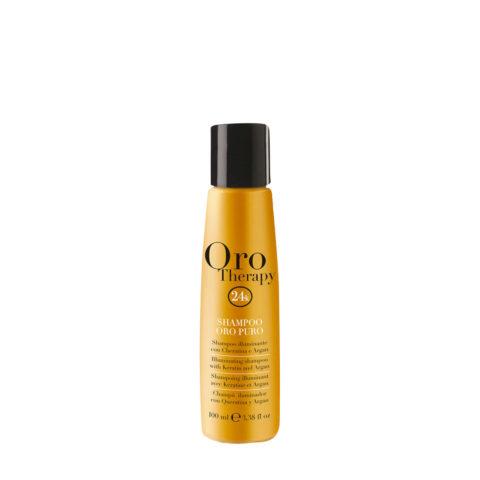Fanola Oro Therapy Oro Puro Shampoo For All Hair Types 100ml