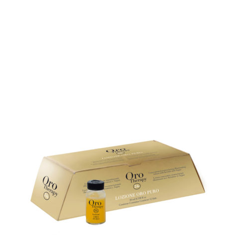 Fanola Oro Therapy Oro Puro Restructuring vials for all types of hair 12x10ml