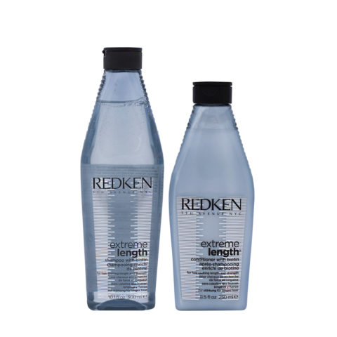 Redken Extreme Length Fortifying Shampoo 300ml And Conditioner 250ml