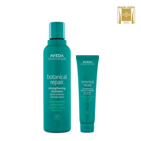 Aveda Botanical Repair Strengthen Shampoo 200ml and Conditioner 200ml
