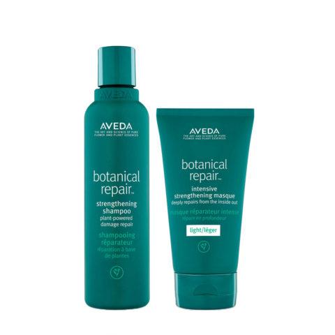 Aveda Botanical Repair Strengthen Shampoo 200ml And Light Mask 150ml