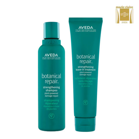 Aveda Botanical Repair Strengthen Shampoo 200ml and Leave-in Conditioner 100ml