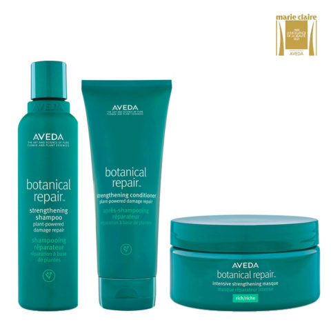Aveda Botanical Repair Strengthen Shampoo 200ml Conditioner 200ml Intensive Mask 200ml