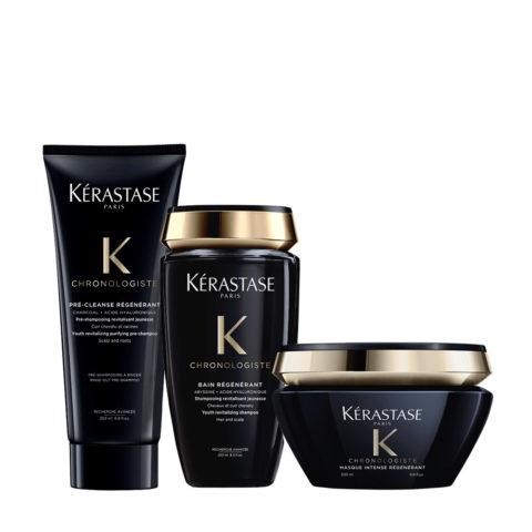 Kerastase Chronologiste Pre Shampoo 200ml Shampoo 250ml Mask 200ml