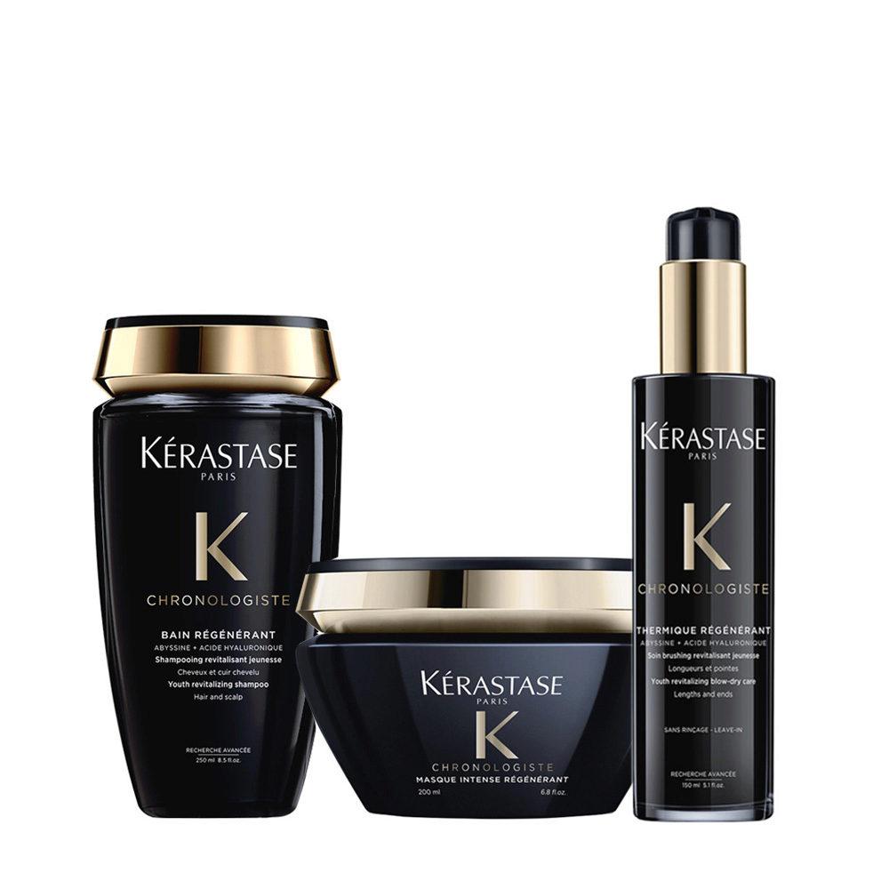Kerastase Chronologiste Shampoo 250ml Mask 200ml Protection Cream 150ml