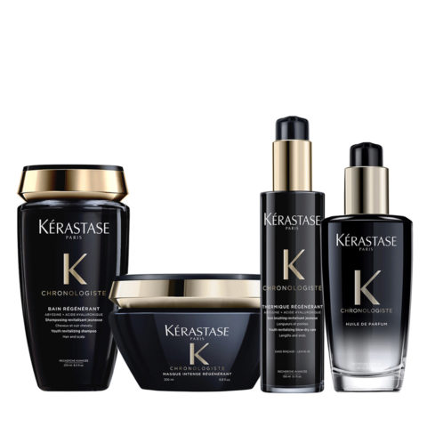 Kerastase Chronologiste Shampoo 250ml Mask 200ml Cream 150ml Oil 100ml