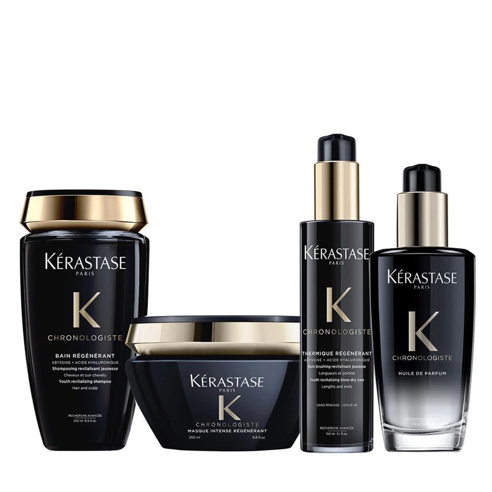 Kerastase Chronologiste Shampoo 250ml Mask 200ml Cream 150ml Oil 100ml