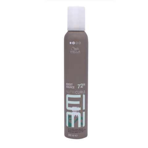 Wella EIMI Nutricurls Boost Bounce Curly Hair Mousse 300ml