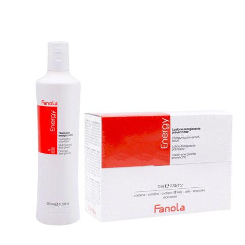 Fanola Antifall Shampoo 350ml And Vials 12x10ml