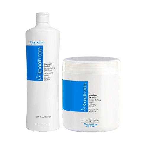 Fanola Smooth Care Shampoo 1000ml And Mask 1000ml