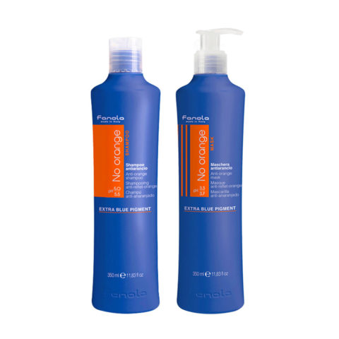 Fanola Antiorange Shampoo 350ml And Conditioner 350ml Brown Hair