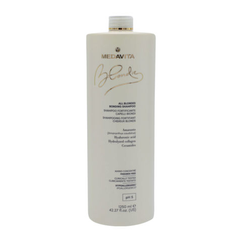 Medavita Blondie Fortifying Shampoo for All Blonde Hair 1250ml