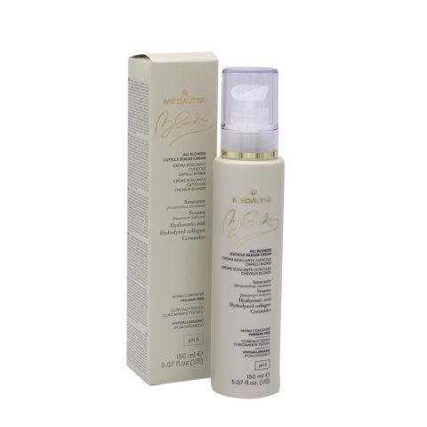 Medavita Blondie Moisturizing Cream for Thick Blonde Hair 150ml