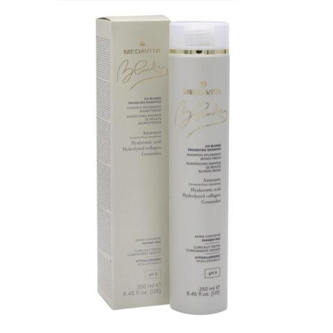 Medavita Blondie Ice Highlighting Shampoo for Cold Blondes 250ml