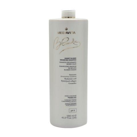 Medavita Blondie Sunset Highlighting Shampoo for Warm Blondes 1250ml