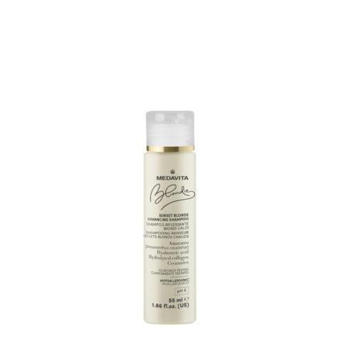 Medavita Blondie Sunset Highlighting Shampoo for Warm Blondes 55ml