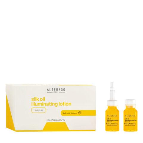 Alterego Silk Oil Illuminating Vials for Dull Hair 12x10ml