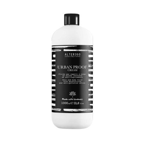 Alterego Urban Proof Moisturizing Cream for Body and Hair 1000ml