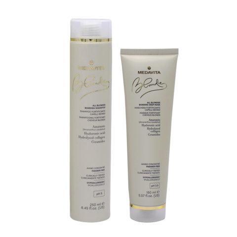 Medavita Blondie Shampoo 250ml and Mask 150ml For Blond Hair