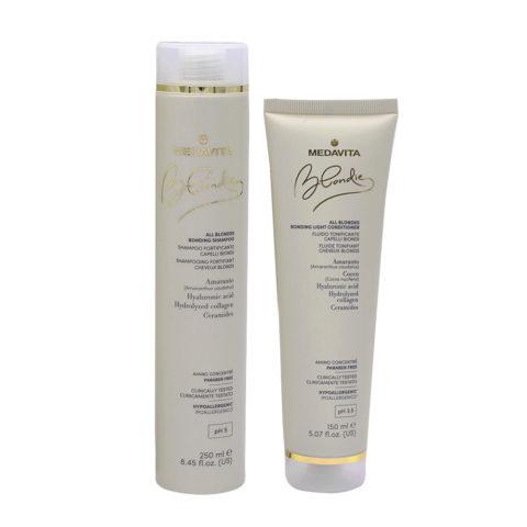 Medavita Blondie Shampoo 250ml And Conditioner 150ml For Blond Hair