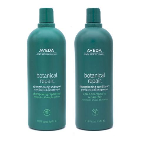 Aveda Botanical Repair Shampoo 1000ml Conditioner 1000ml