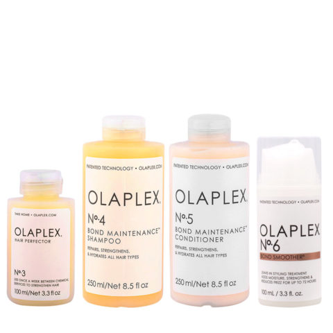 Olaplex Complete Reconstruction Set For Damaged And Frizzy Hair