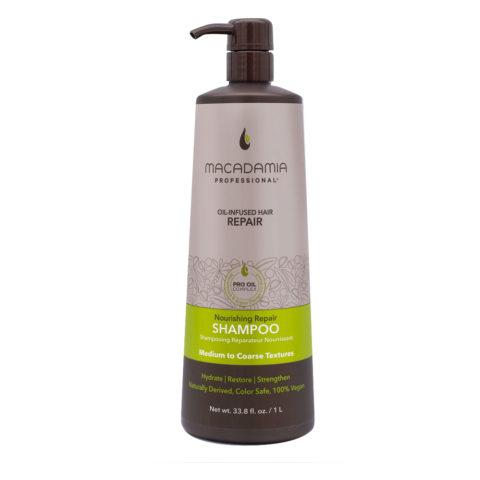 Macadamia Nourishing Repair Shampoo For Dry And Damaged Hair 1000ml