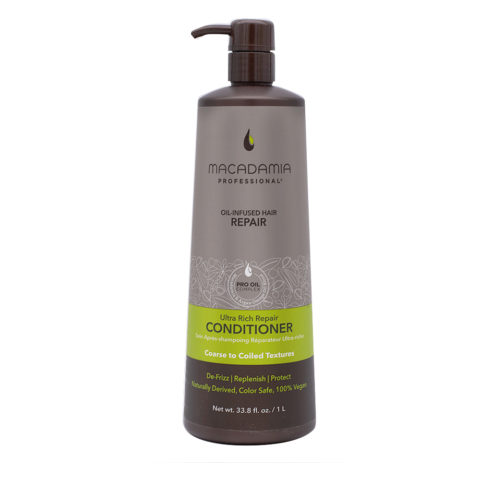 Macadamia Ultra Rich Conditioner Damaged And Thick Hair 1000ml