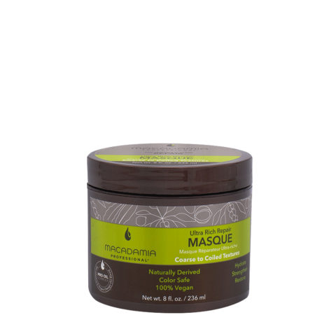 Macadamia Ultra Rich Moisturizing Mask For Damaged And Thick Hair 236ml