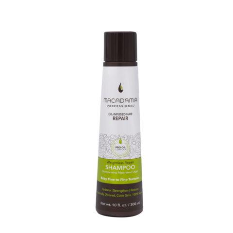 Macadamia Weightless Repair Shampoo For Damaged And Fine Hair 300ml