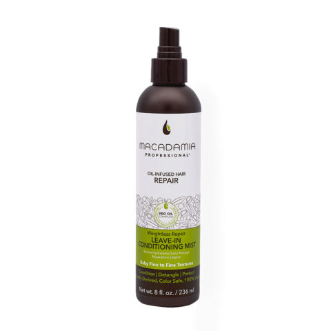 Macadamia Weightless Conditioner No Rinse For Fine Hair 236ml