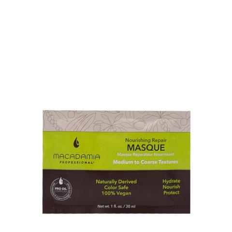 Macadamia Nourishing Repair Mask For Damaged And Dry Hair 30ml