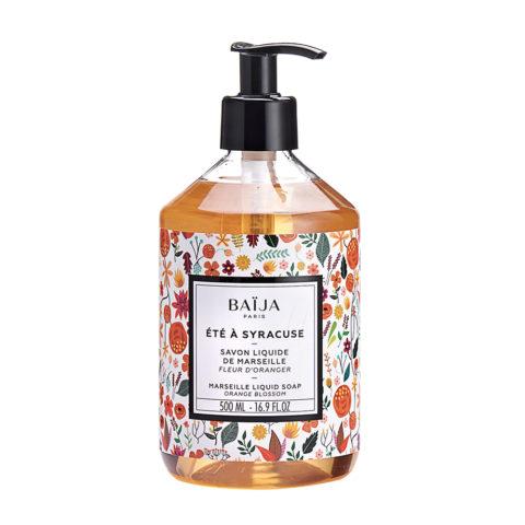 Baija Paris Marseille Liquid Soap with Orange Blossoms 500ml