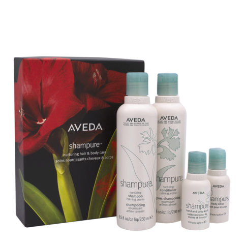Aveda Shampure Christmas Set For Body And Hair
