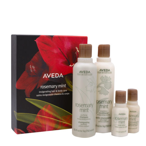 Aveda Rosemary Mint Christmas Set For Body And Hair
